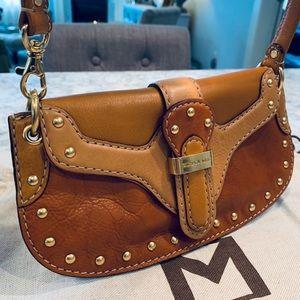 Michael Kors British tan leather bag